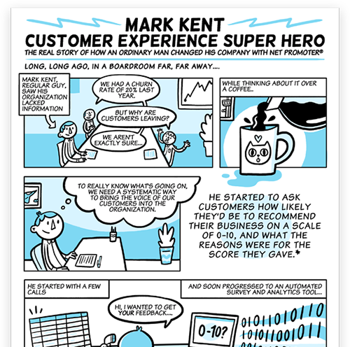 Download the Net Promoter Comic for free